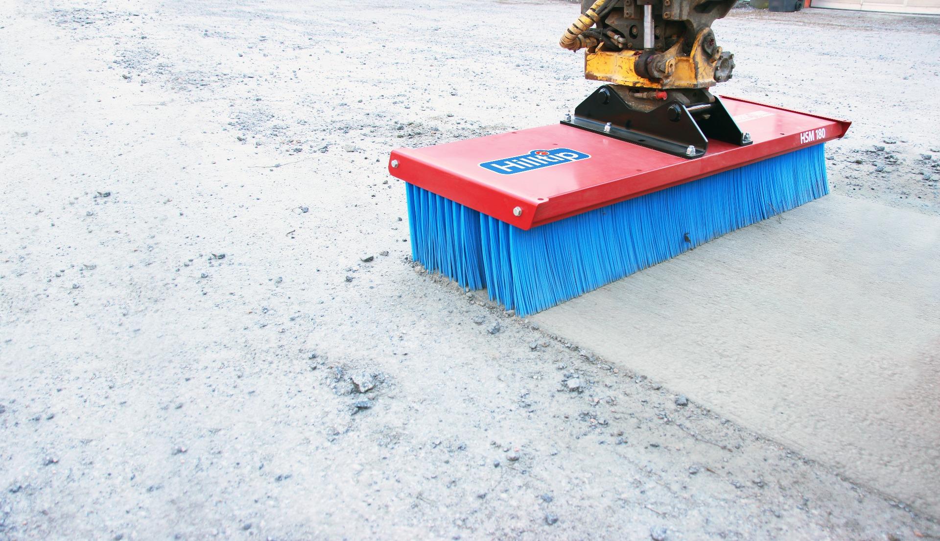 Hilltip SweepAway Push Broom