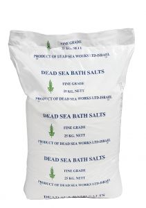 Fine Dead Sea Bath Salt 25kg bag