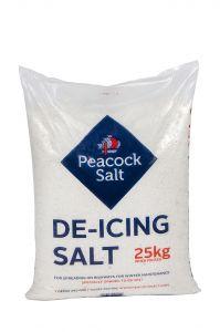 White Deicing Salt 25kg bag