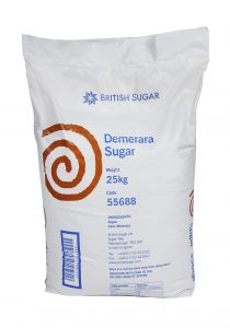 British Demerara Sugar 25kg bag