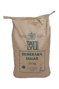 Tate & Lyle Pure Raw Cane Demerara Sugar 25kg bag