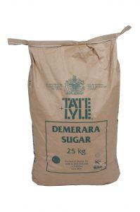 Tate & Lyle Pure Raw Cane Demerara Sugar 25kg bag