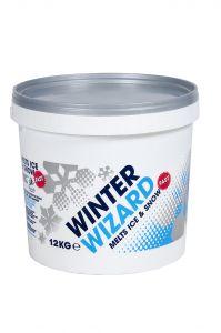 Winter Wizard Fast De-icer 12kg Tub