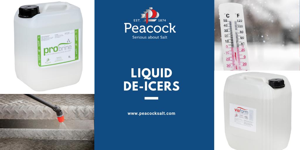 Liquid De-icers