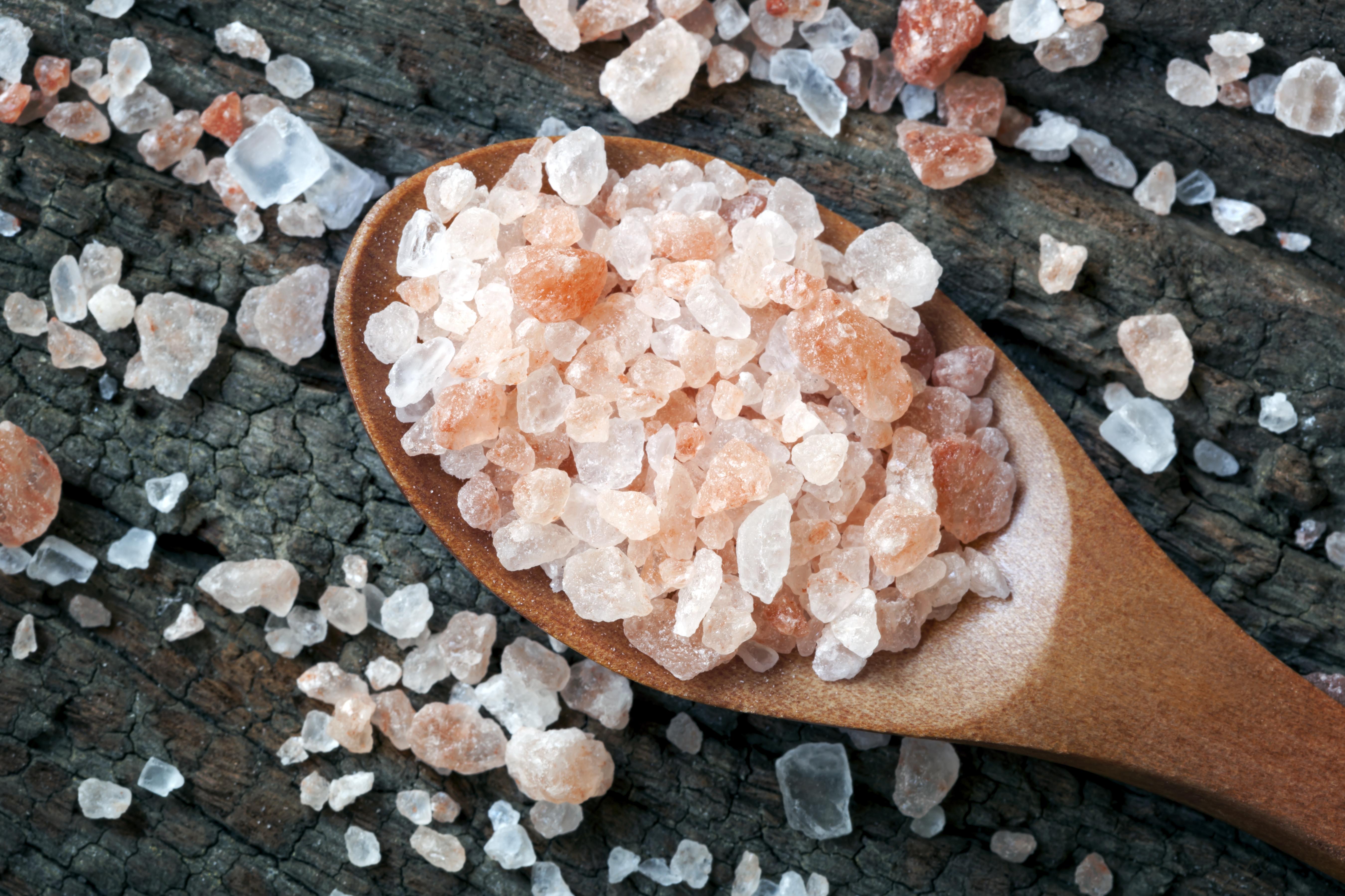 Peacock Salt Himalayan Pink Salt
