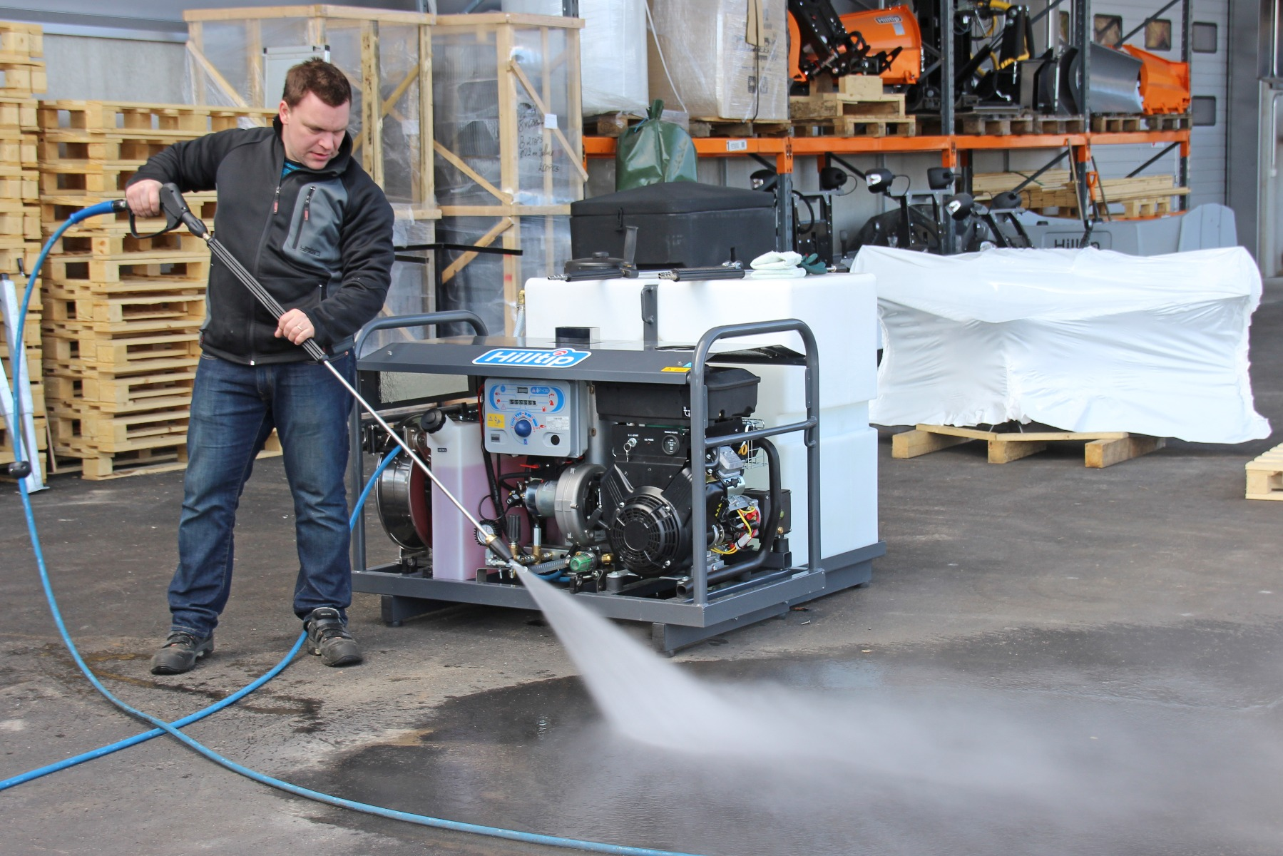 Hilltip Jet-It Mobile Pressure Washer